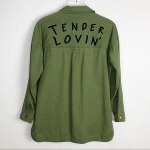 FOREVER 21 Tender Lovin' Shirt Jacket